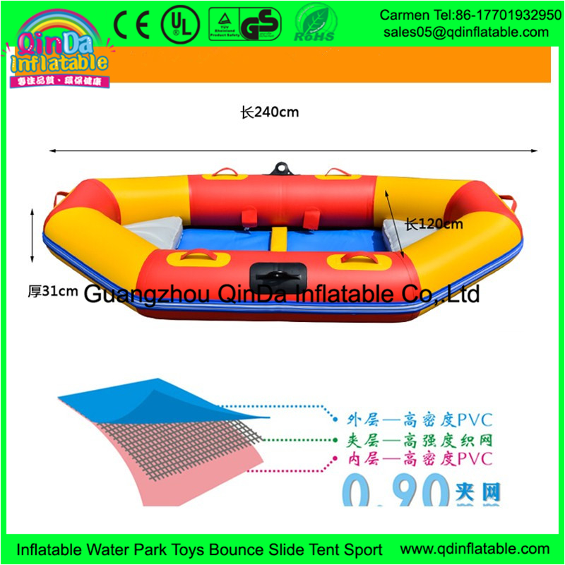 Factory directly price inflatable raft kayak for water games