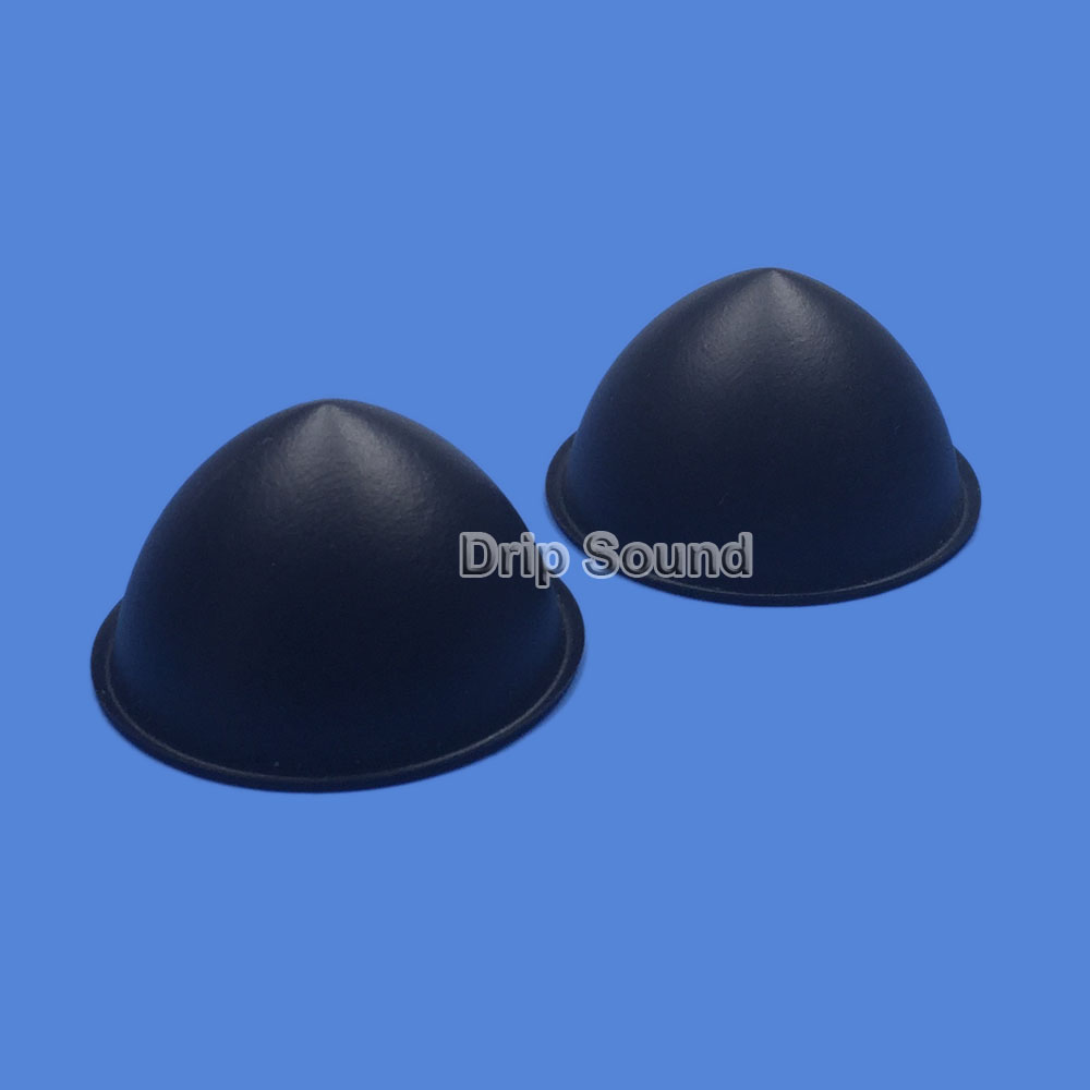 2pcs 45mm Speaker Dust Cap Bass Subwoofer Plastic Bullet Head Dust Cap Cover