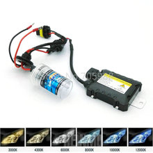 Motorcycle car headlight Xenon hid kit  Moto Light HID 55W Slim Ballast Bike 1 ballast with 1 bulb