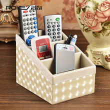 Rocky white lightning pattern remote control storage box storage box Creative Desktop simple European-style garden storage box