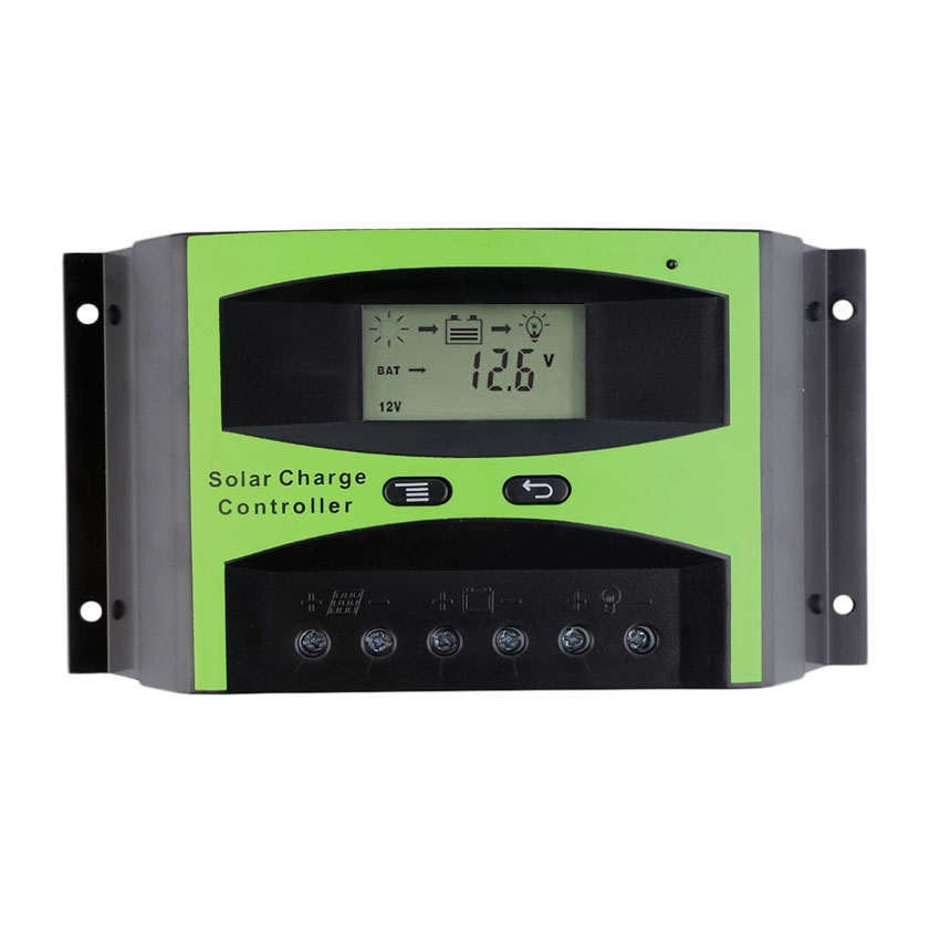 LCD 50A 60A 48V Solar charger Controller Solar cells Panel Battery Charge Regulator 300W 400W 500W 1000W 2000W 3000WLCD 50A 60A 48V Solar charger Controller Solar cells Panel Battery Charge Regulator 300W 400W 500W 1000W 2000W 3000W
