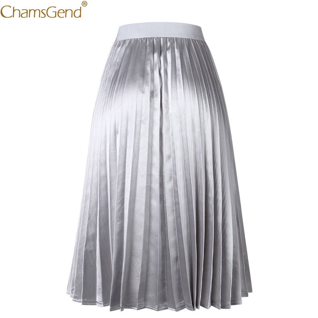 Womens Pleated Elegant Summer Skirts Womens High Waist Skinny Big Swing Skirts Womens Plus Size Chiffon Skirt Ladies Apr