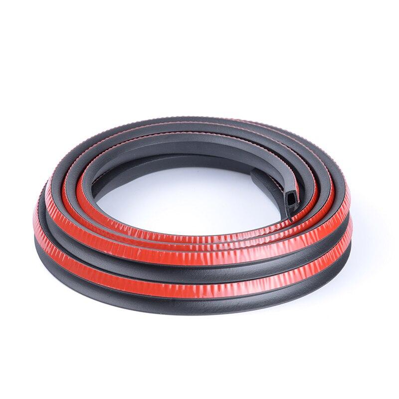 Car Door Seal Strip P Type Rubber Door Seal Strip Noise Insulation Sealing Rubber For Car Rubber Door Auto Soundproofing P Seal