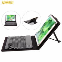 Kemile Universa Wireless Bluetooth 3.0 Keyboard for for Samsung Galaxy Tab A 10.1 2016 T585 T580 SM-T580 T580N Funda Cases