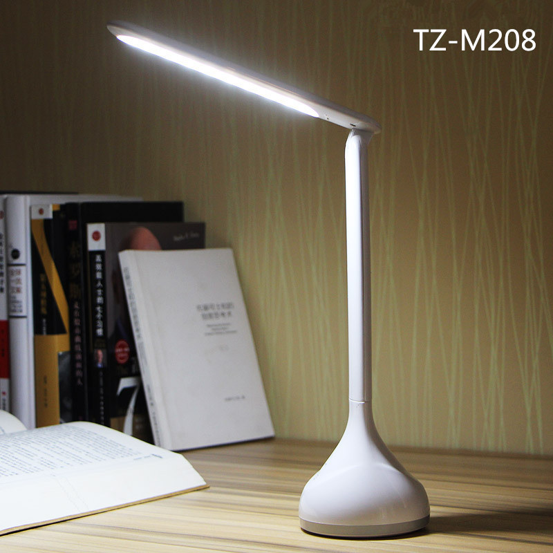 buy 3W Super Bright USB rechargeable Touch Dimming 18 LED Desk Lamp Table Lamp Reading Study Light Foldable Child Eye-Care Lamps pic,image LED lamps offers