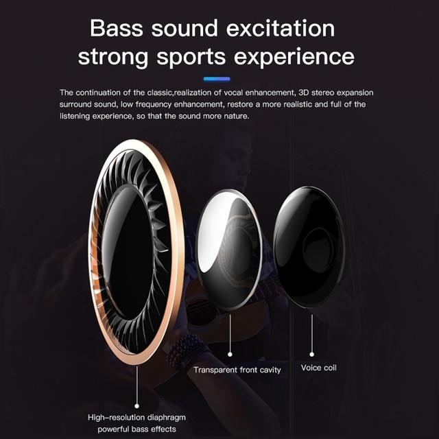Bluetooth Headphones AWEI T11 Earphone Headset 3D Bass With Mic 2