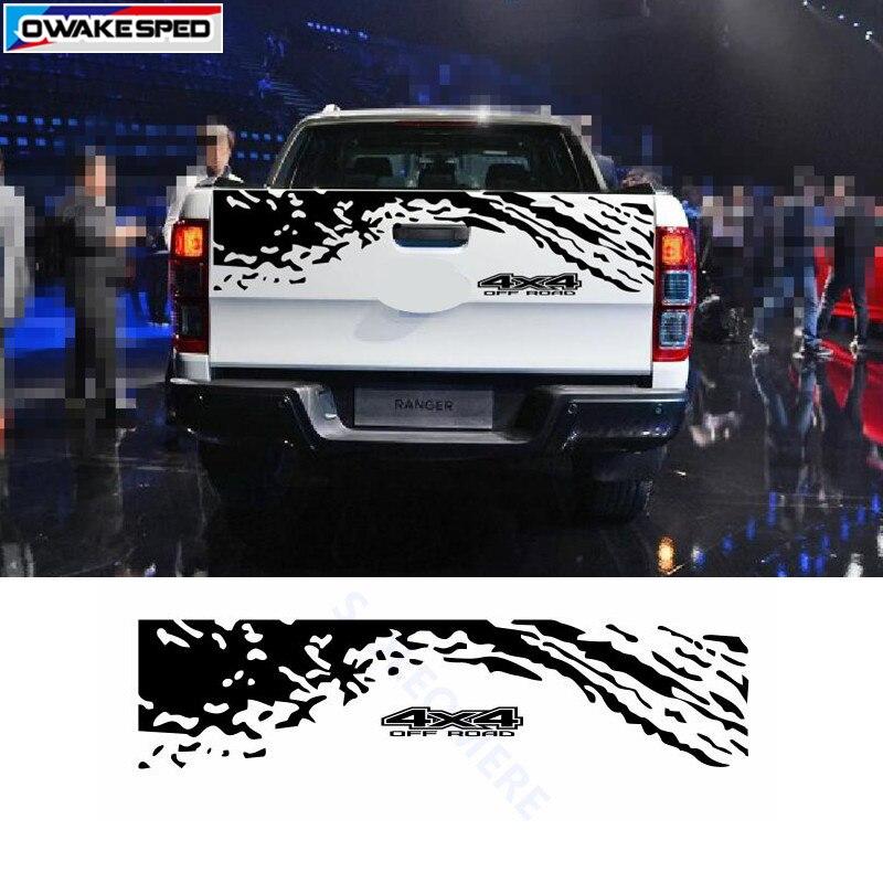 4X4 Off Road >> Us 15 19 18 Off 4x4 Off Road Vinyl Decal Mobil Styling Pickup Bagasi Dekorasi Stiker Auto Body Ekor Disesuaikan Stiker Untuk Ford Ranger In Mobil
