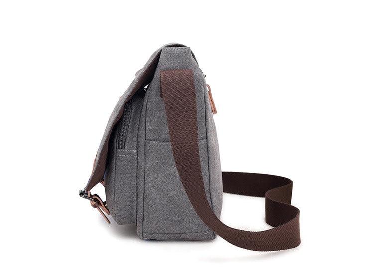 Micom Canvas Men Messenger Bags Vintage Shoulder Belt Bag Large Capacity Business Travel Bag Men\`s Canvas Crossbody Handbag New (19)