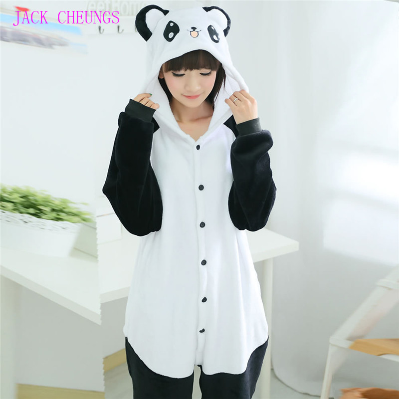Anime Characters Jumpsuit : Aliexpress buy adult panda onesies pajamas animal