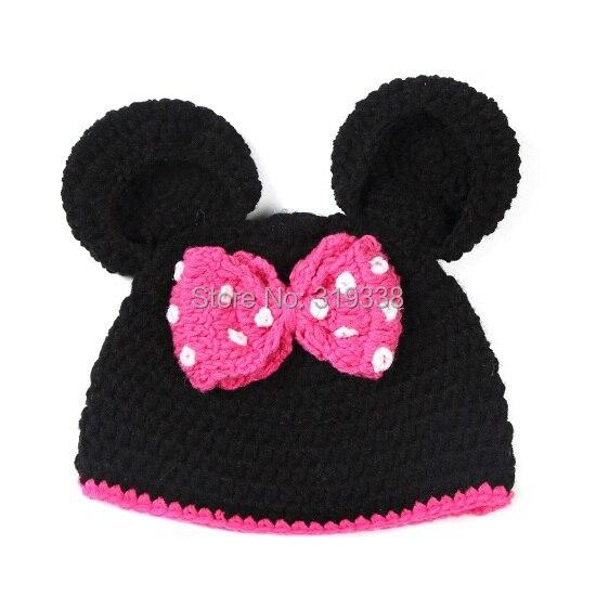 Crochet Mickey Mouse Hat Pattern Free Choice Image - knitting ...