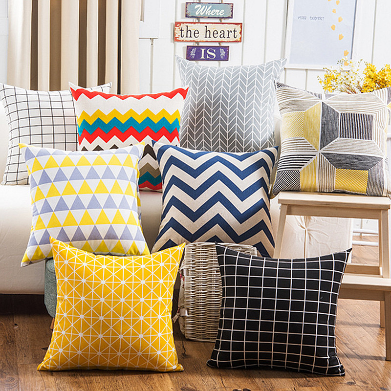 Online Get Cheap Gingham Cushion Covers -Aliexpress.Com | Alibaba