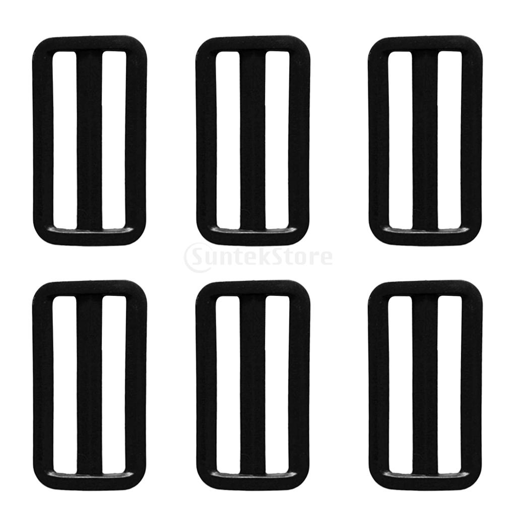 6PCS Scuba Diving Dive Plastic Weight Belt Slide Keeper Standard 2