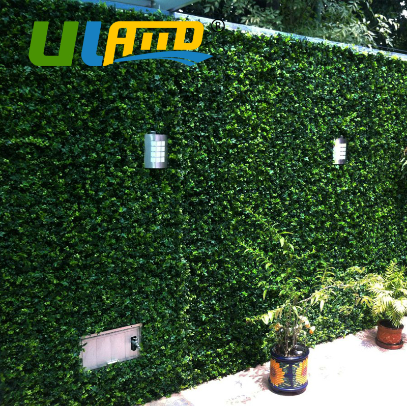 Us 179 99 Uland Artificial Boxwood Panels 3 Sqm Decorative Plastic Green Garden Fence For Garden Decoration Boxwood Balcony Wedding Party In