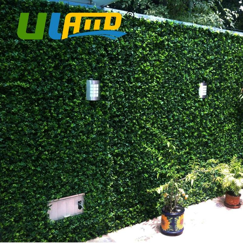 uland boj artificial paneles de metros cuadrados de plstico decorativo verde jardn valla de jardn