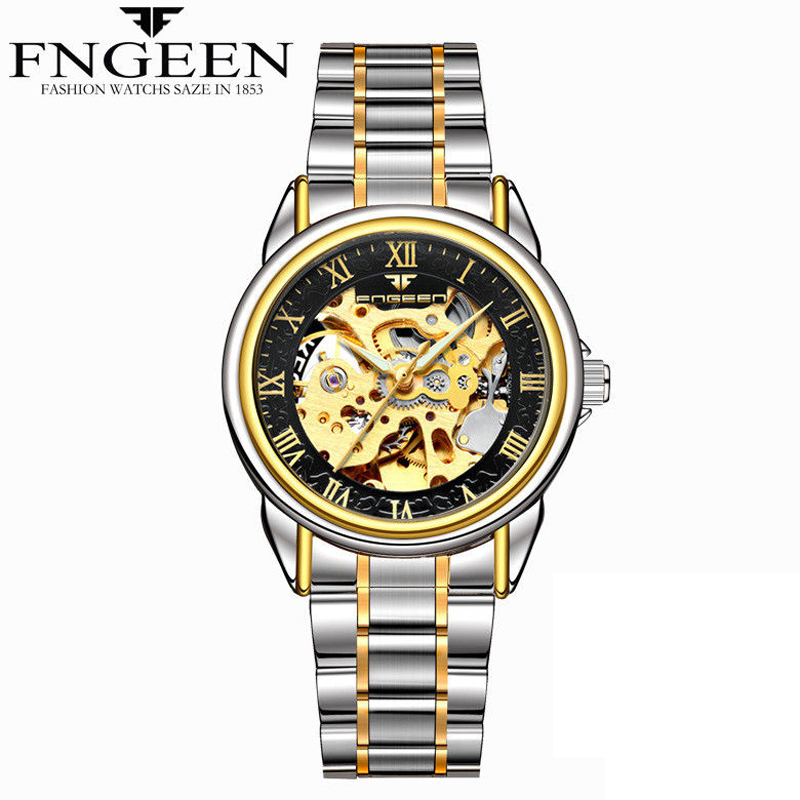 Relogio Feminino Women Watches Self Wind Automatic Mechanical Wristwatches Tourbillon Skeleton Hodinky Female Orologio Meccanico