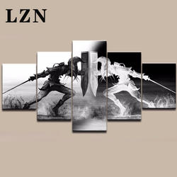 LZN настенные художественные картины викингов домашний Декор 5 шт. Legend of Zelda холст живопись Гостиная HD печатный рисунок игровой плакат