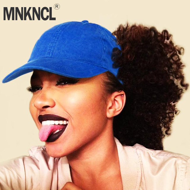 MNKNCL Ponytail Baseball Cap Women Messy Bun Snapback Cap Spring and Summer  Outdoor Sport Hat 1488e1ecbd7