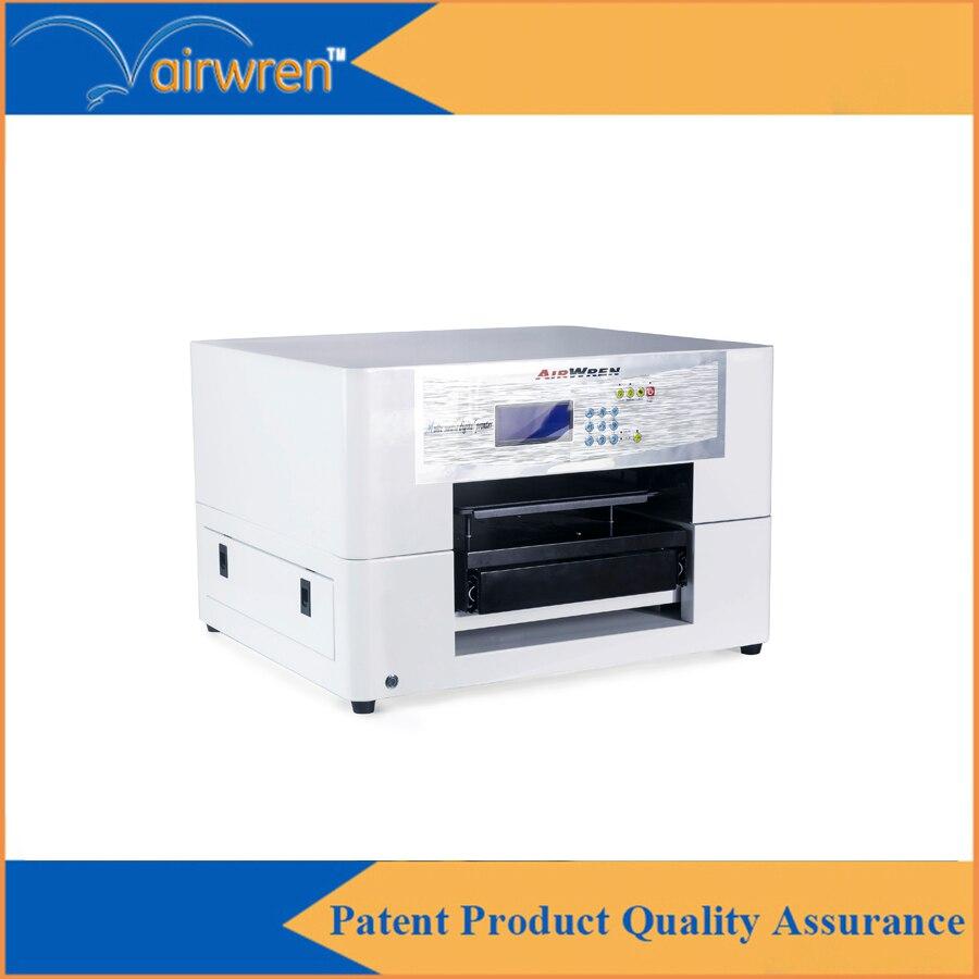 Flatbed a3 multifunctional textile digital printer t shirt printer low price