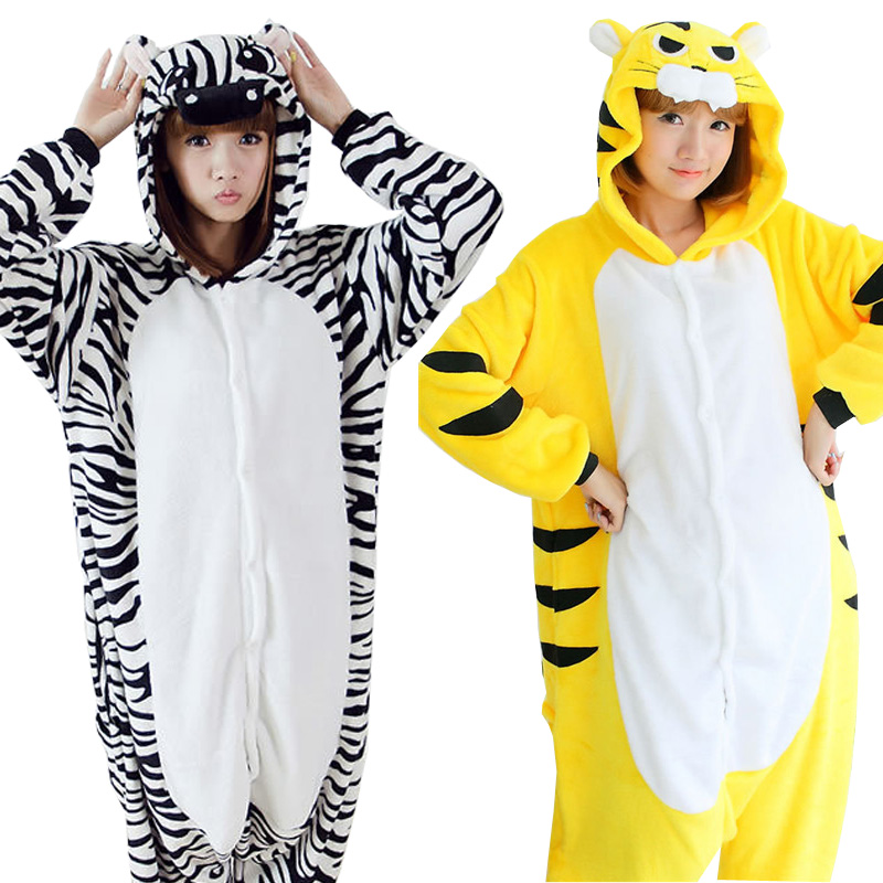 0213917e8d Detail Feedback Questions about Halloween Animal Costume Onesies For Adults  Overall Pajamas Autumn Winter Women Flannel Animals Pajamas Hooded Cosplay  C074 ...