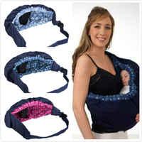 Pudcoco criança estilingue envoltório swaddling crianças enfermagem papoose bolsa frente carry para recém-nascido bebê infantil