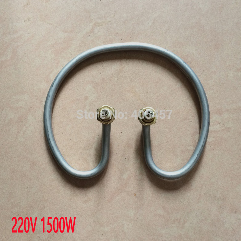 bucket heating elements,bank/container  electric heat pipe 220 V,1500 W heater part