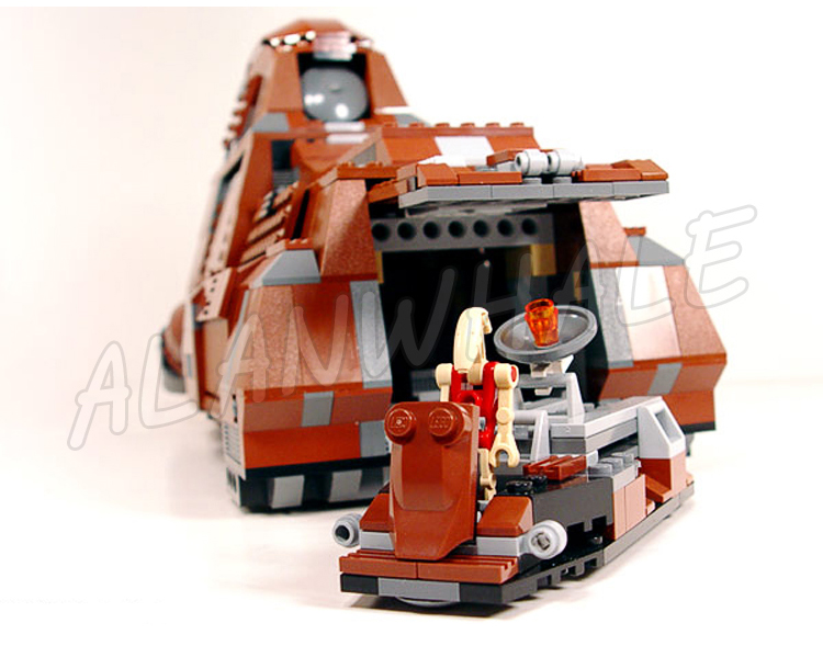 R$ 363 54 31% de desconto 1338 pcs New Space Battle Droid Wars MTT 05069  Segurança Da Federação do Comércio Modelo Presentes Conjuntos de Blocos