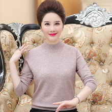 Autumn Winter Long Sleeve Knitted Sweater Pullover Women Loose Turtleneck Sweater Female Casual Sweater Jumper Plus Size