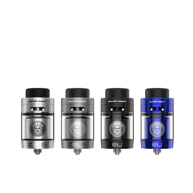 Big sale Original Zeus RTA Geekvape Zeus RTA Dual coil 5.5ml RTA zeus atomizer leak proof top airflow system E Cigarette стяжка zeus za521