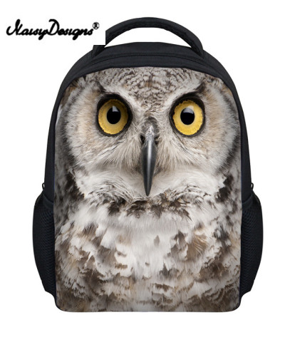 Cute Animal Owl Backpack for Kids Cool Girls School Backpack Baby Toddler Bagpack Rucksa ...