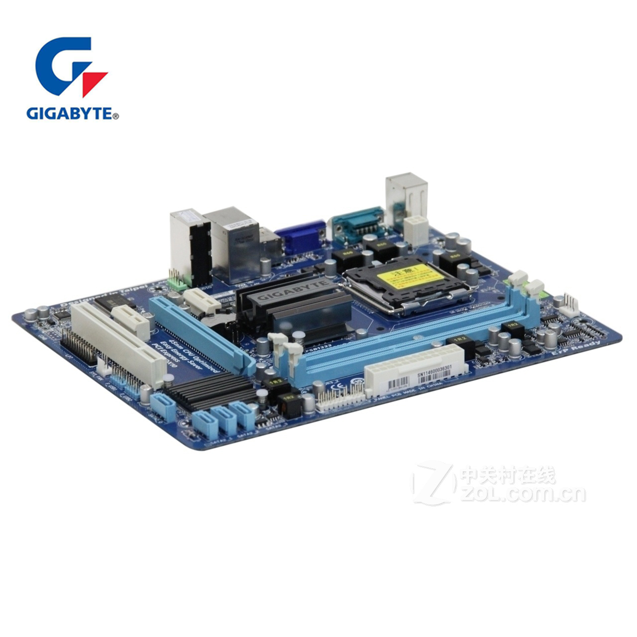 100% Gigabyte GA-G41MT-S2P Motherboard LGA 775 DDR3 USB2.0 Desktop Mainboard For Core 2 For Intel G41 D3H DDR3 G41MT S2 P Used