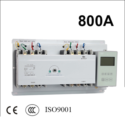 все цены на 3 poles 3 phase ats 800A automatic transfer switch with English controller