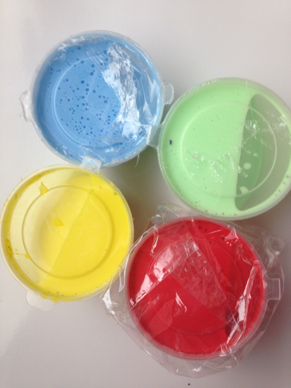 40box 40g/box Soft butter slime form crystal soil squishy lab slime toy slime putty clear clay slime Whipped cream rubber mud