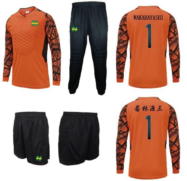 Camisetas Captain Tsubasa Football Soccer Jerseys,oliver Atom Maillots De Foot Aton Goalkeeper Wakabayashi Genzo Cosplay
