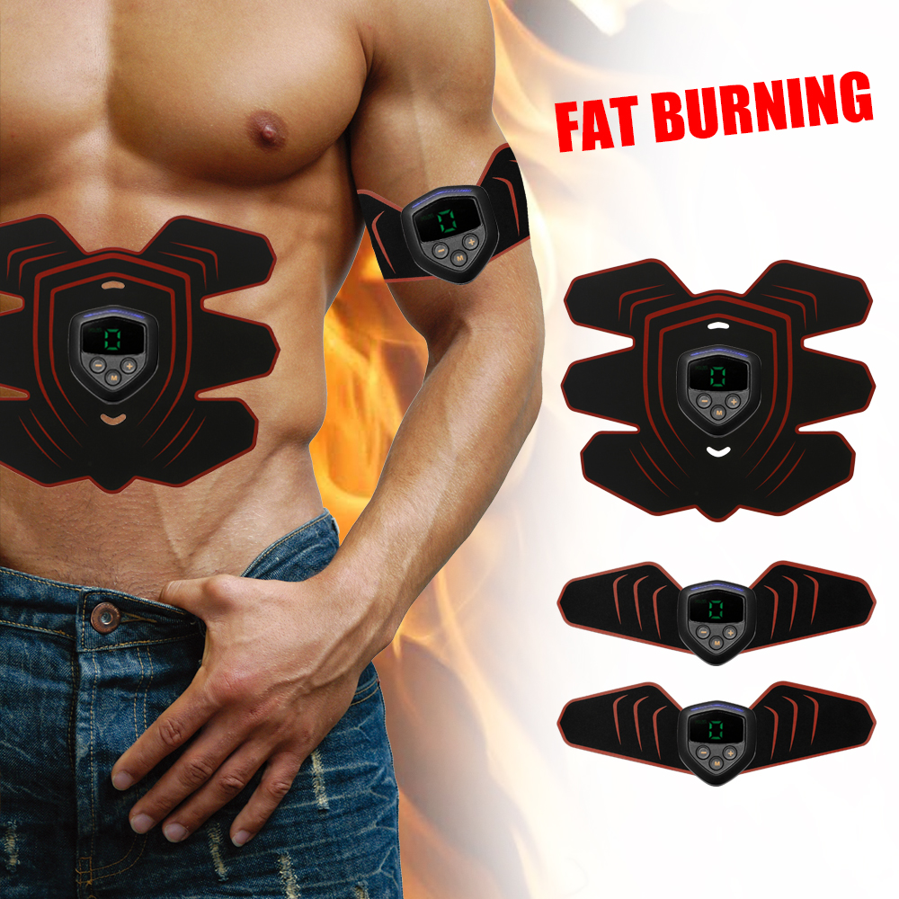 Muscle Trainer Abdominal Massager Fitness Accessories Arm Stickers Body Loss Slimming Massagers Abs Stimulator Sculpting