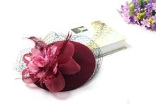 Elegant Wedding Hats and Fascinators Woman for Brides Flowers Ladies headdress
