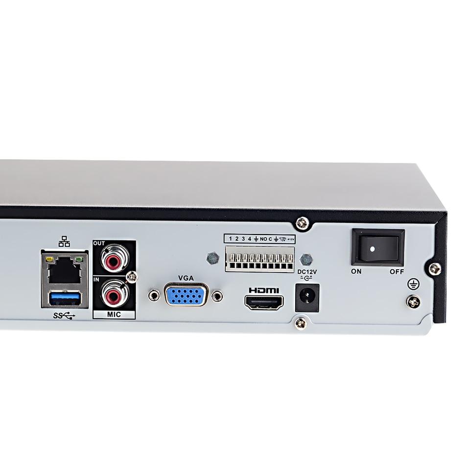 Color Negro Dahua NVR4232-4KS2 Videograbador 4K
