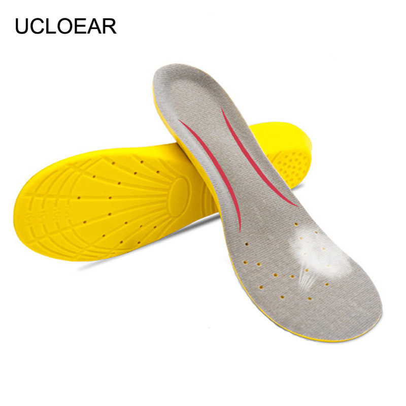 Unisex High Quality Sport Insoles Memory Foam Pads Running Shoes Inserts Breathable Insoles Foot Care Expert Arch Support XD-026 kelme 2016 new children sport running shoes football boots synthetic leather broken nail kids skid wearable shoes breathable 49
