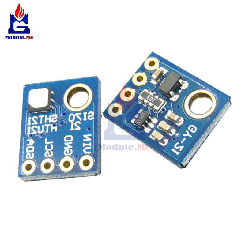 Si7021 GY-21 Industrial High Precision Humidity Sensor Module For Arduino Low Power CMOS IC Module Board I2C IIC Interface