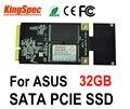 Kingspec Мини PCIE SATA III II 3*5 см 3*7 см SSD Жесткий Диск 32 ГБ 4-канальный Для ASUS Eee PC S101 900 901 900A EP121, CE FCC ROHS
