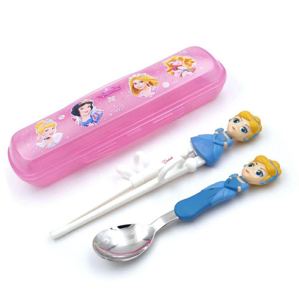 Disney детские палочки для еды мультфильм моделирование учебные палочки для еды обучения палочки для еды Детские вспомогательные палочки для еды коррекция посуда - Цвет: Color2