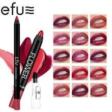 Flower Core Long-Lasting Lipstick Suits 15 Styles Matte Lip Stick 1.8g+4g High Quality Makeup Brand EFU #EFUL01