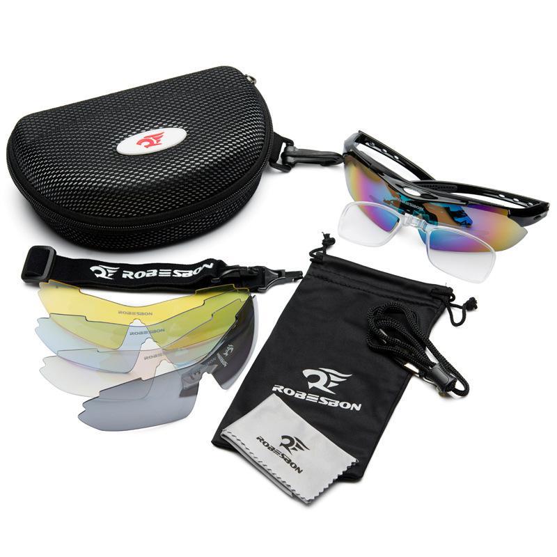 Muži Ženy Brýle Polarizované sluneční brýle Venkovní rybolov UV400 Sportovní Kempování Cyklistika Sluneční brýle 5 objektivů Polaroid