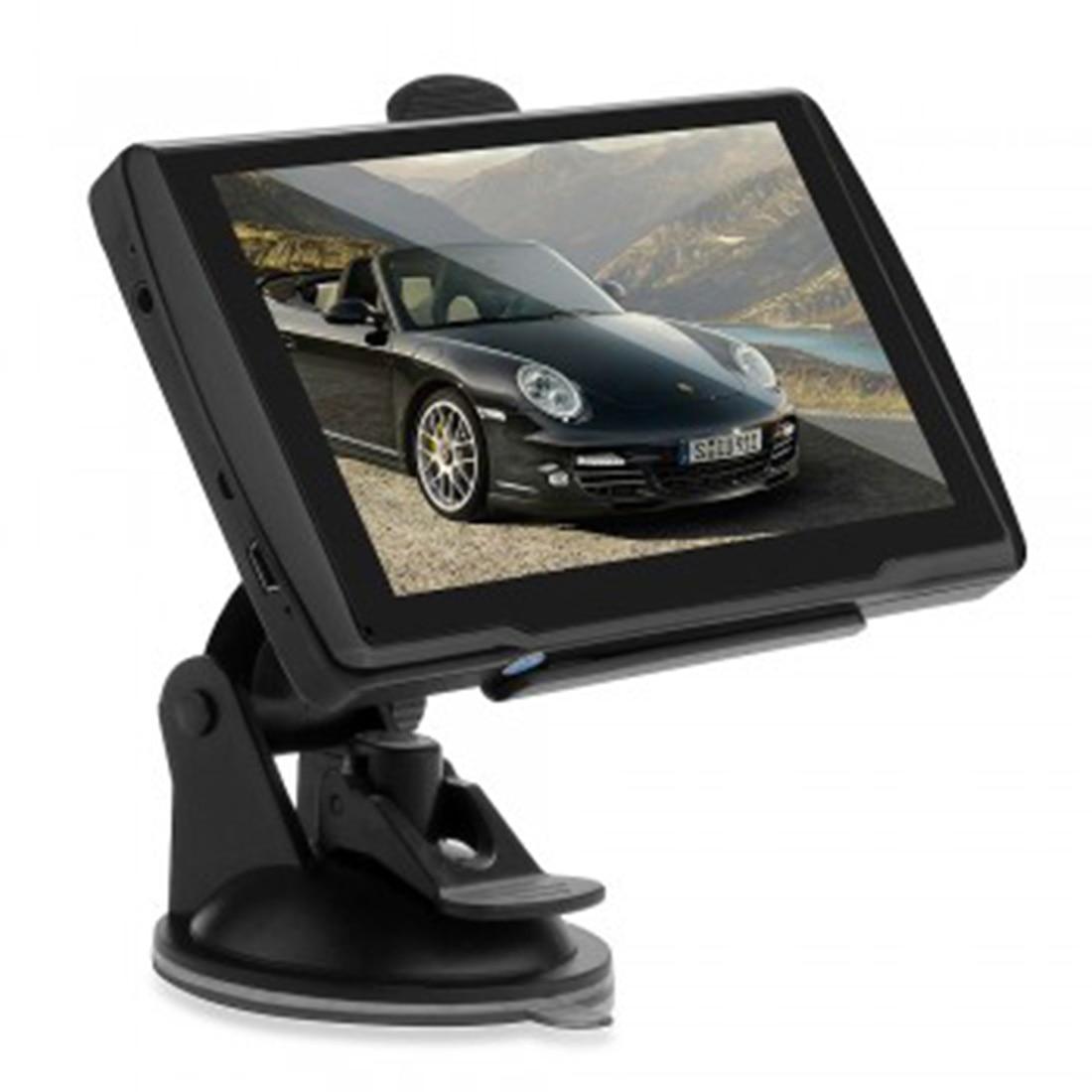 Car font b gps b font 5 inch Touch Screen font b GPS b font Navigation