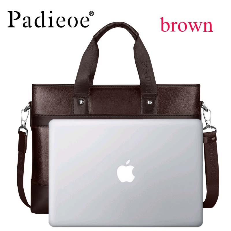 Men's Bag Briefcase Handbag Messenger-Bag Casual-Bag Business Luxury IPad Brand Combination