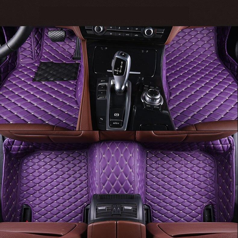 все цены на Auto Floor Mats For Nissan TEANA Maxima 2008-2012 Foot Carpets Step Mat High Quality Brand New Embroidery Leather Mats онлайн