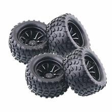 4 peças/lote rc borracha esponja pneus pneu roda aro para rc 1/10 modelos de escala carro rc hsp fora estrada monstro caminhão 94111 94108 94188