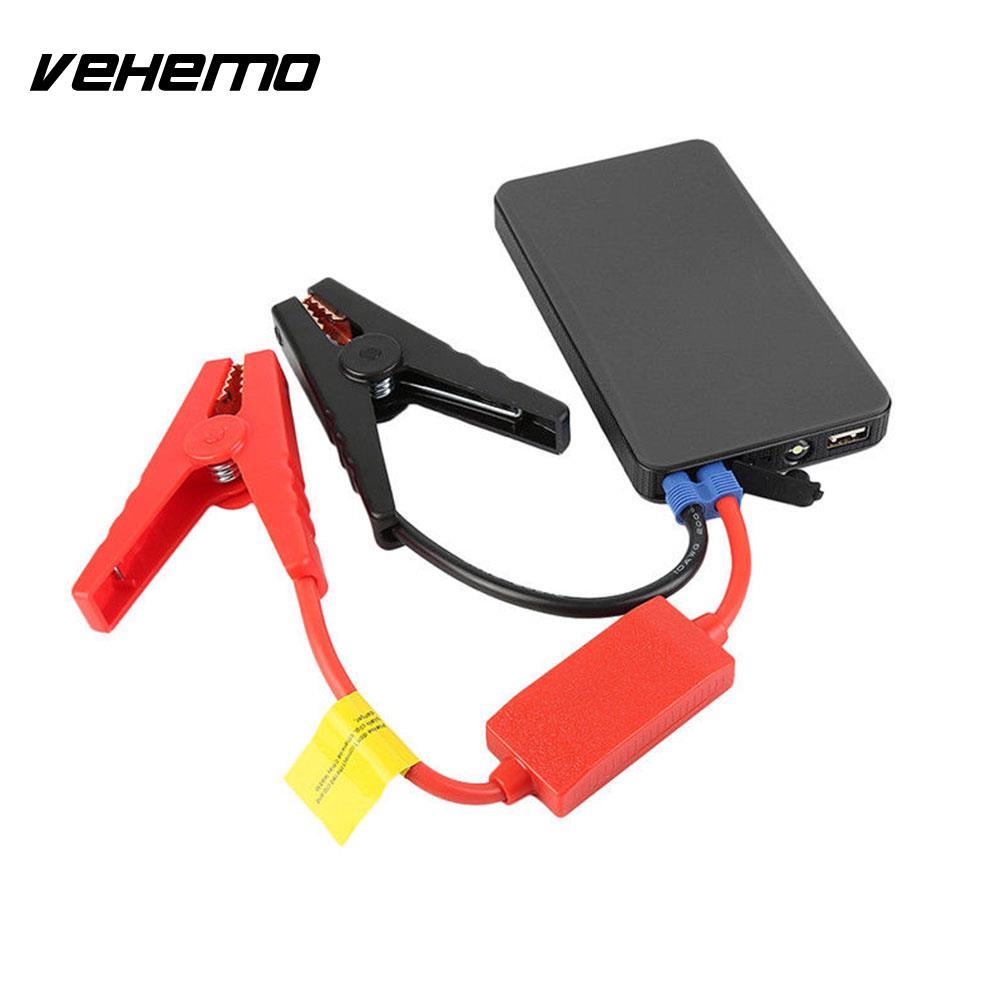 Vehemo 20000 mAh voiture saut démarreur motoneiges chargeur de batterie Portable lampe LED d'urgence