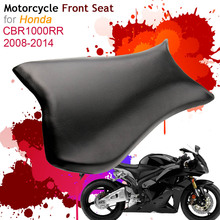 For Honda CBR1000RR 2008-2014 Front Seat Cover Cushion Leather Pillow CBR 1000RR 08 09 10 11 12 14 Motorcycle Rider Driver Seat motorcycle accessories front rider seat leather cover for honda cbr900rr cbr929 2000 2001 cbr 900rr