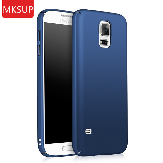 sports shoes 6d261 27a37 US $2.99 40% OFF|Luxury 360 Full Protection Phone Case For Samsung Galaxy  S5 S 5 I9600 Silky Ultra Slim Hard PC Black Matte shockproof Back Cover-in  ...