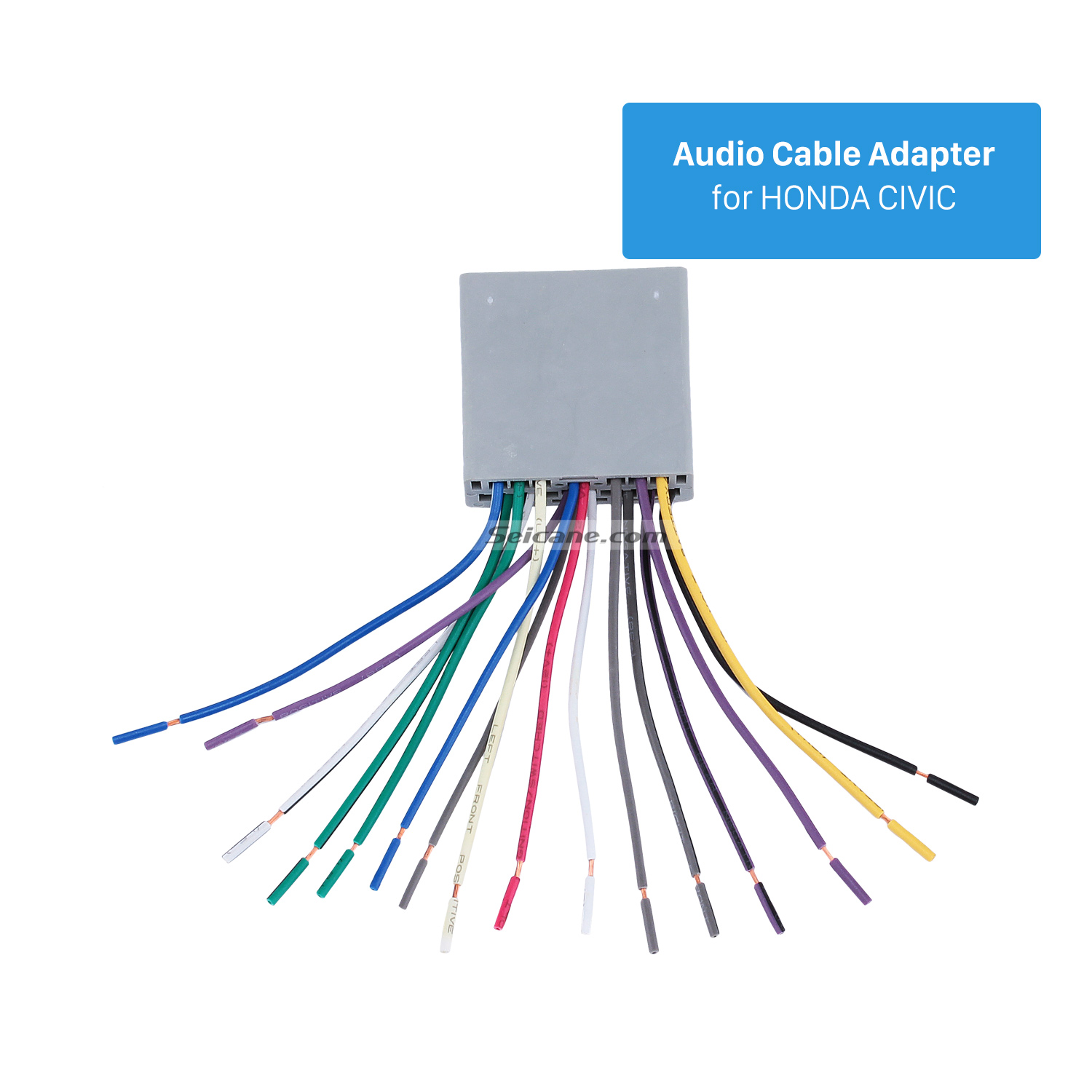 Seicane Top Wiring Harness Adapter Audio Cable and Radio Antenna Cable for  HONDA CIVIC-in Speaker Line from Automobiles & Motorcycles on  Aliexpress.com ...